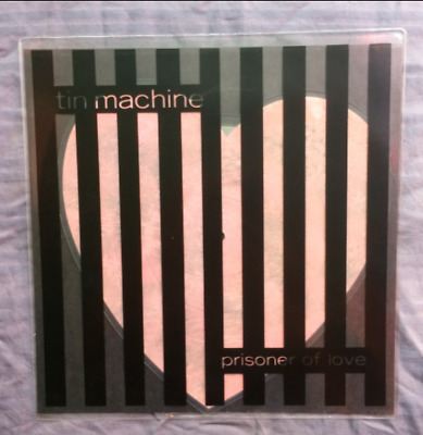 David Bowie/tin Machine/prisoner Of Love/10″ Heart Shaped Picture Disc/ex-Ex