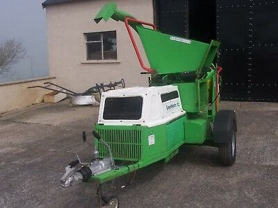 greenmech wood chipper and sherder