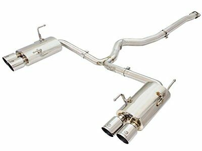 """aFe Power 49-36801-P Takeda Stainless Cat-Back Exhaust System (3-2.25"""")"""