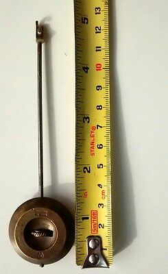 English Clock pendulum. Genuine old pendulum needs new hook