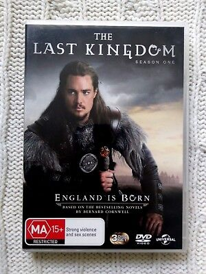 The Last Kingdom – Season One- Dvd, 3-Disc, R: 2+4, Like New, Free Post Aus-Wide
