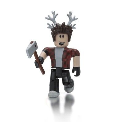 "Roblox Lumberjack Tycoon Series 3 Mystery Box 2.5"" Figures + New Game Item Codes"