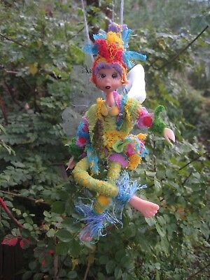 Magical Party Elf (Rainbow) - Hand made By Conny