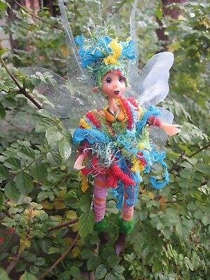 Magical Party Elf (Rainbow-2) - Hand made By Conny