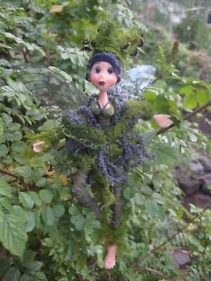 Magical Party Elf (Green) - Hand made By Conny