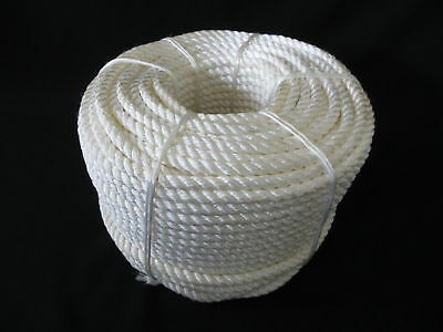 100Mtrs X 8Mm Nylon Rope 1390Kg Capacity