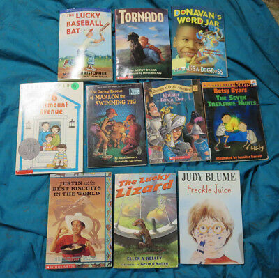 4TH GRADE AR Chapter and Picture Books Lot of 25 AR Level 37