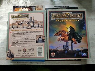 AD&D 1109 CITY OF SPLENDORS Waterdeep TSR Campaign Expansion BOX-SET