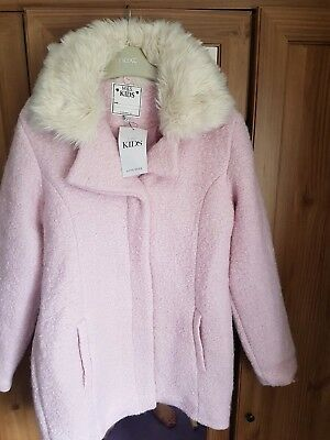 girls marks and spencer coat 12 years new with tags
