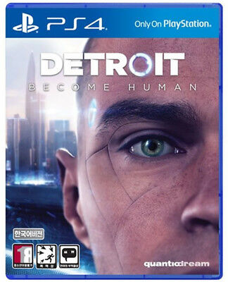 [Brand New] PS4  Detroit Become Human Korean Version With Free Shipping + Gifts