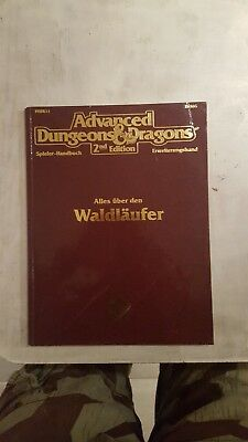 AD&D Alles über den WALDLÄUFER 2136G PHBR11 2nd Edition