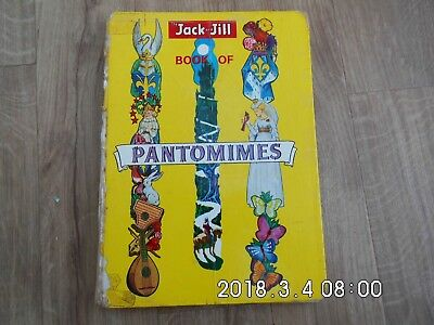 Vintage 1962 The Jack and Jill Book of Pantomimes  Acceptable Price Unclipped.