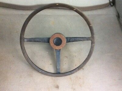 Land Rover Series 2a Steering Wheel With Horn Centre