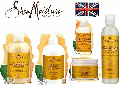 Shea Moisture Raw Shea Butter Haircare Products, Shampoo, Conditioner, Treatment