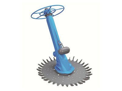 Swimming Pool Cleaner for both Above-Ground and In-Ground Pools with Flapper