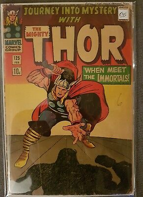 Thor #125 ***final Journey Into Mystery***