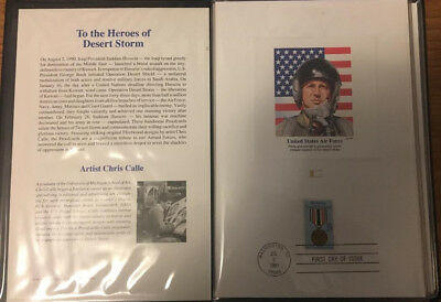 1991 Heroes of Desert Storm Stamp Booklet -- New Condition