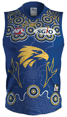 West Coast Eagles 2018 Indigenous Guernsey Sizes Small - 3XL AFL ISC