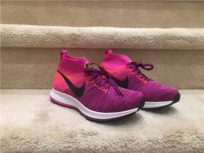 7da104d3ab99a NIKE ZOOM PEGASUS All Out Flyknit GS Junior Kids Size 5YRunning ...