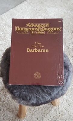 AD&D ALLES ÜBER DEN BARBAREN TSR 2148G ♤NEU♤ Advanced Dungeons & Dragons 2nd