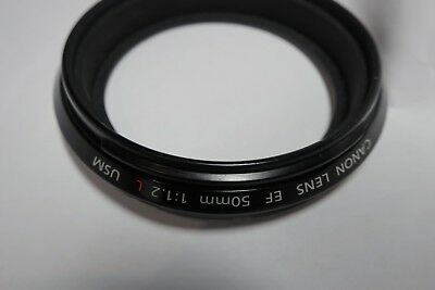 Canon EF 50mm 1.2 L USM lens - Filter Barrel Ass'y Parts New YG2-2385