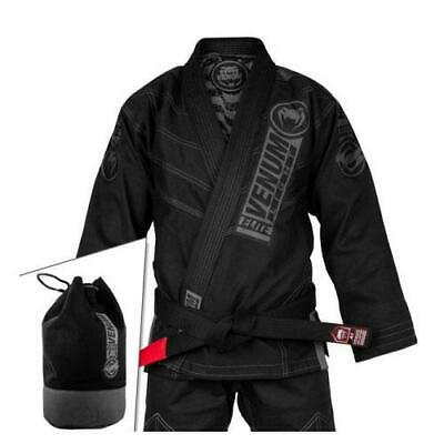 Venum Elite Light 2.0 Bjj Gi (Bag Included) - Black/black