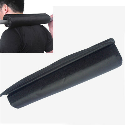 UK Barbell Pad Squat Bar Supports Weight Lifting Pull Up Neck Shoulder Protect