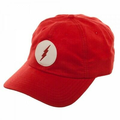 Baseball Cap - The Flash - Leather Label Suede Dad Hat New ba5qqvdco