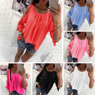 Damenmode Sexy Oberteile Bluse Sommerbluse Sommertop Schulterfrei Sexytops  Shirt 636ad6a7bf