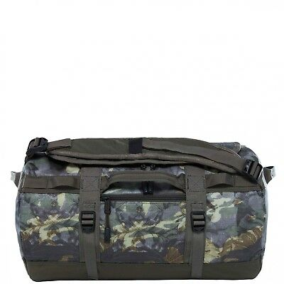 The North Face Reisetasche S Base Camp Duffel S english green tropical camo