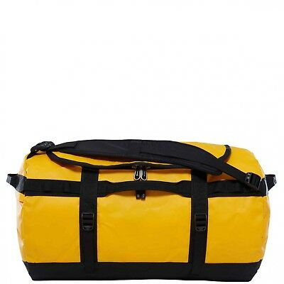 The North Face Reisetasche S Base Camp Duffel S summit gold/tnf black