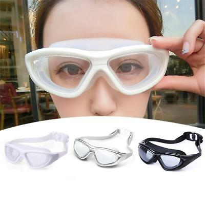 YUKE Adult Large Frame Swimming Goggles Glasses Waterproof & Anti-fog Swimming