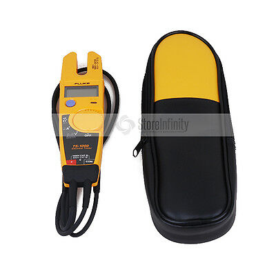 FLUKE T5-1000 Voltage Continuity Current Clamp Meter +Labloot Carrier Case