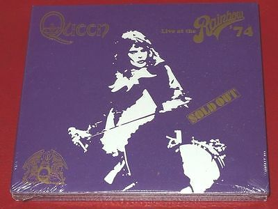 Live at the Rainbow '74 [Deluxe Edition] by Queen 2CD Free Ship(SPECIAL OFFER)