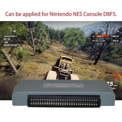 FC 60 Pin To NES 72 Pin Adapter Converter Suitable For Nintendo NES Console KZ