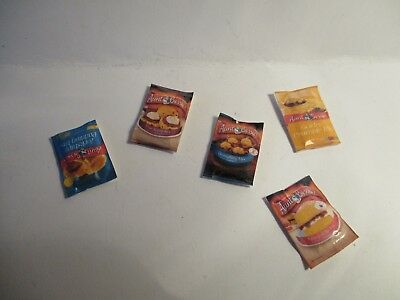5 Dolls House Miniature Packet Mixes