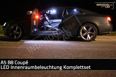 LED Innenraumbeleuchtung SET für Audi A5 B8 Coupé - Cool-White