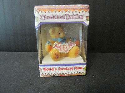 "Cherished Teddies - ""world's Greatest Mom"""