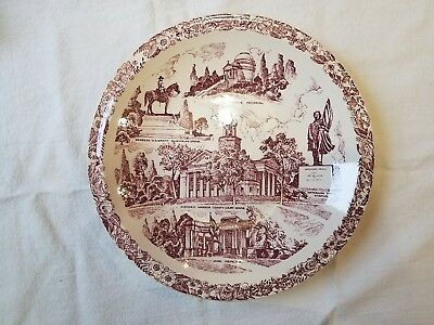 Vicksburg Mississippi Gibraltar of the South Vernon Kilns Collector Plate
