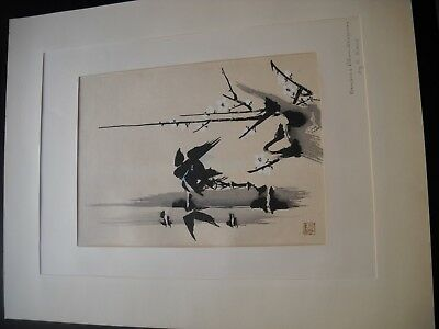 Kano Japanese Painting Edo Period - Ink on Paper