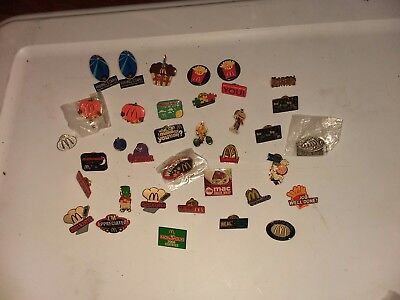 McDonalds pin collection