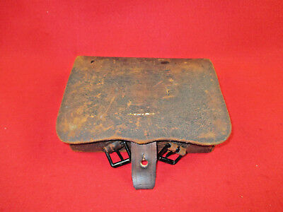 Original Civil War US 58 Cal Cartridge Box By G.D. Cook CO. ~ONLY 2000 PRODUCED