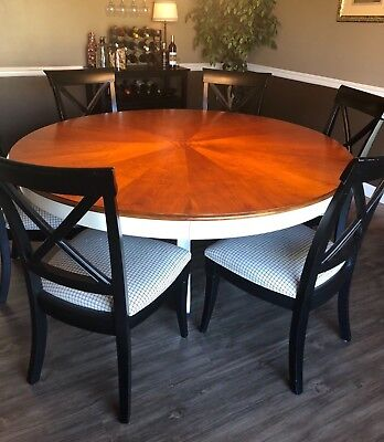 BEAUTIFUL STANLEY FURNITURE Dining Room Table 6 Chairs