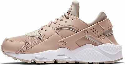 pretty nice 83da0 85021 NIKE WOMENS HUARACHE Run 634835-202 Khaki Beige Sand Tan Rose Retro Og  Girls New