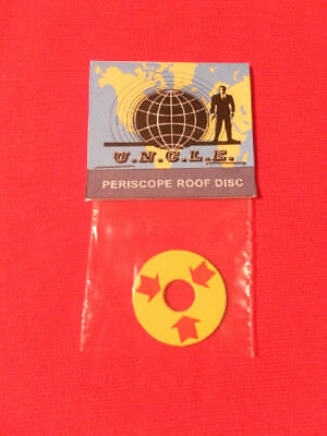 Corgi 497 The Man From Uncle  Periscope Card Disc, AMAZING QUALITY !!!