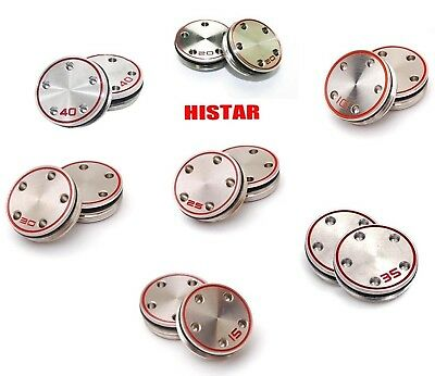 (15g, Silver) - HISTAR 2pcs Golf Custom Weights with Wrench For Titleist