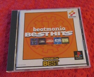 Beatmania Best Hits Sony PlayStation Konami The Best Japanese Version PS1