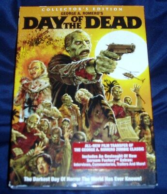 Day of the Dead Collector's Edition DVD Scream Factory Slipcover Horror Romero