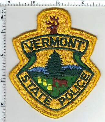 State Police (Vermont) 1st Issue Shoulder Patch from the Early 1980's