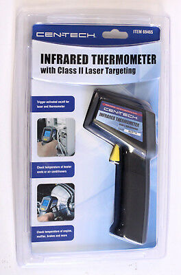 NEW  Cen-Tech 69465 Infrared Thermometer Laser Targeting